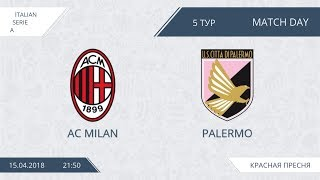 Afl18. italy. serie a. day 5. as milan - palermo