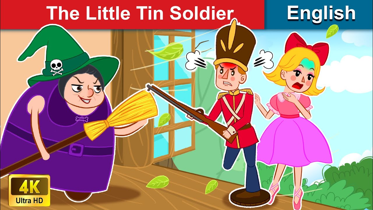 The Little Tin Soldier 👦 Story in English | Stories For Teenagers | WOA Fairy Tales