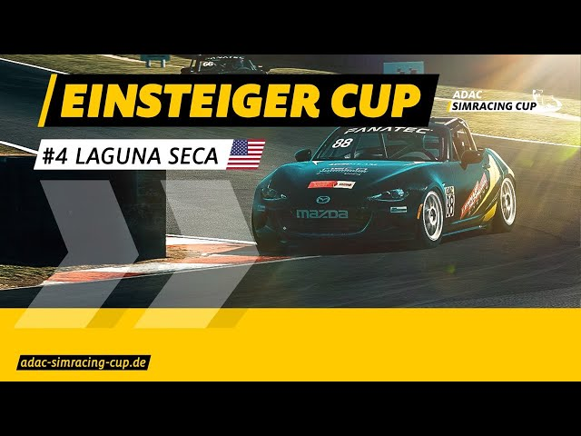 ADAC SimRacing Cup Einsteiger Cup - Laguna Seca