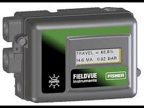 Fisher DVC 2000 Calibration  YouTube