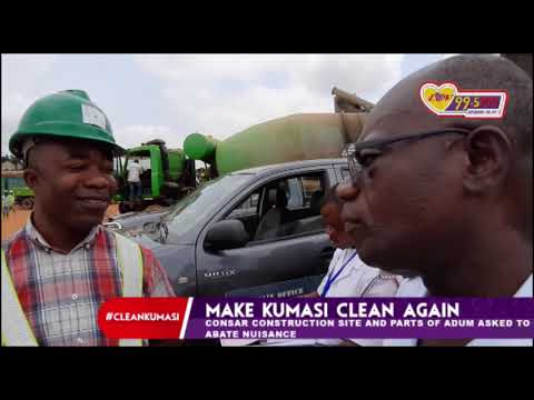Management of CONSAR Construction (Kumasi) given a week to clear bushes