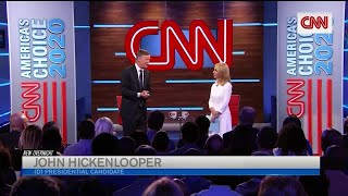 Hickenlooper faces criticism for comment about women candidates during CNN town hall thumbnail
