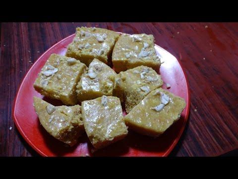 Burfi Gram Flour Burfi Gujarati Sweet Recipeby Maa Vantagadi