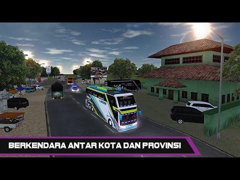 Mobil Bus Pariwisata Simulator - Keliling Jakarta - Free Car Games To Play Now
