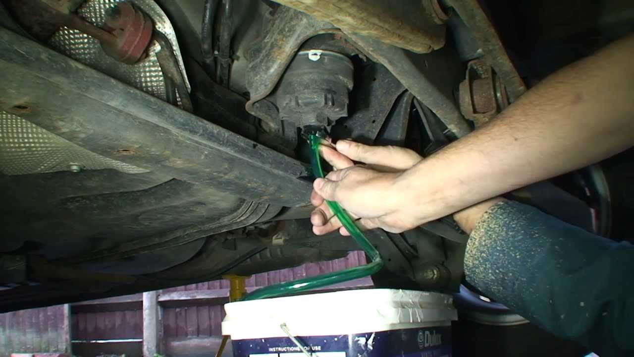2007 2012 Ford Mondeo 2 0 Tdi Fuel Filter Change Youtube