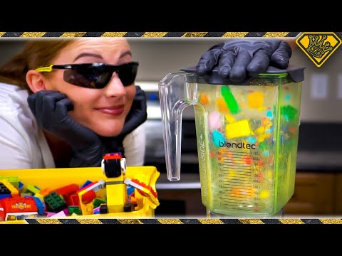 LEGO in a Blender