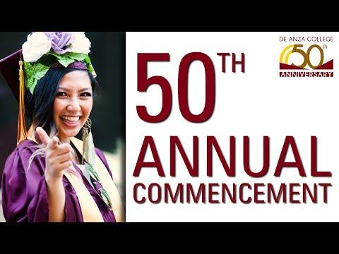50th Annual Commencement   De Anza College
