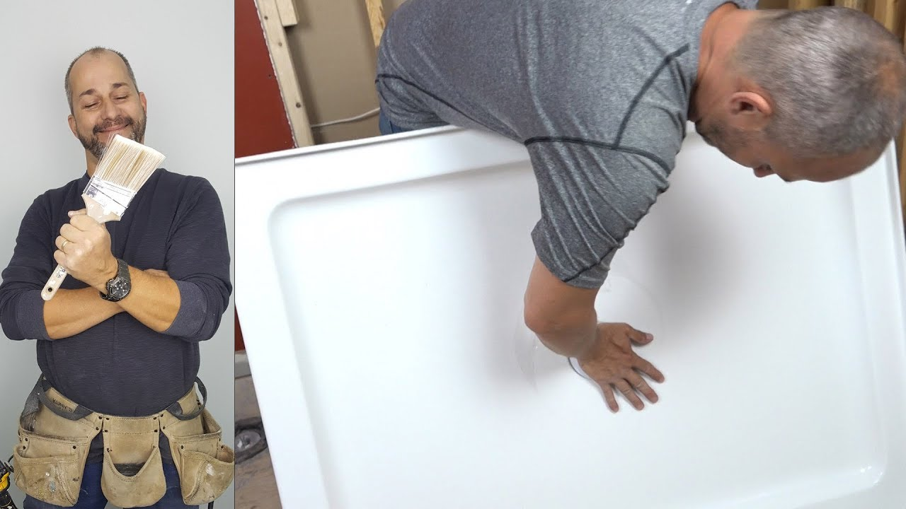 How To Install A Shower Pan   YouTube