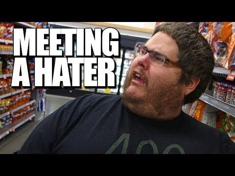 WE MET A HATER IN WALMART!!