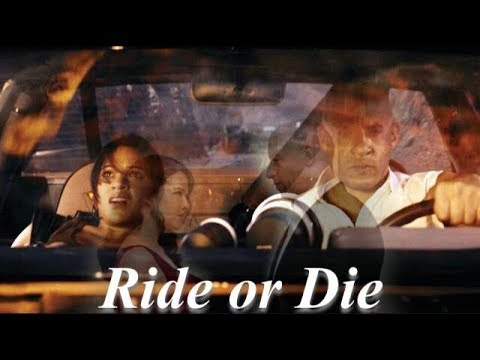 Dom and Letty Toretto - Ride or Die - The Fast and The Furious - Him & I  edit