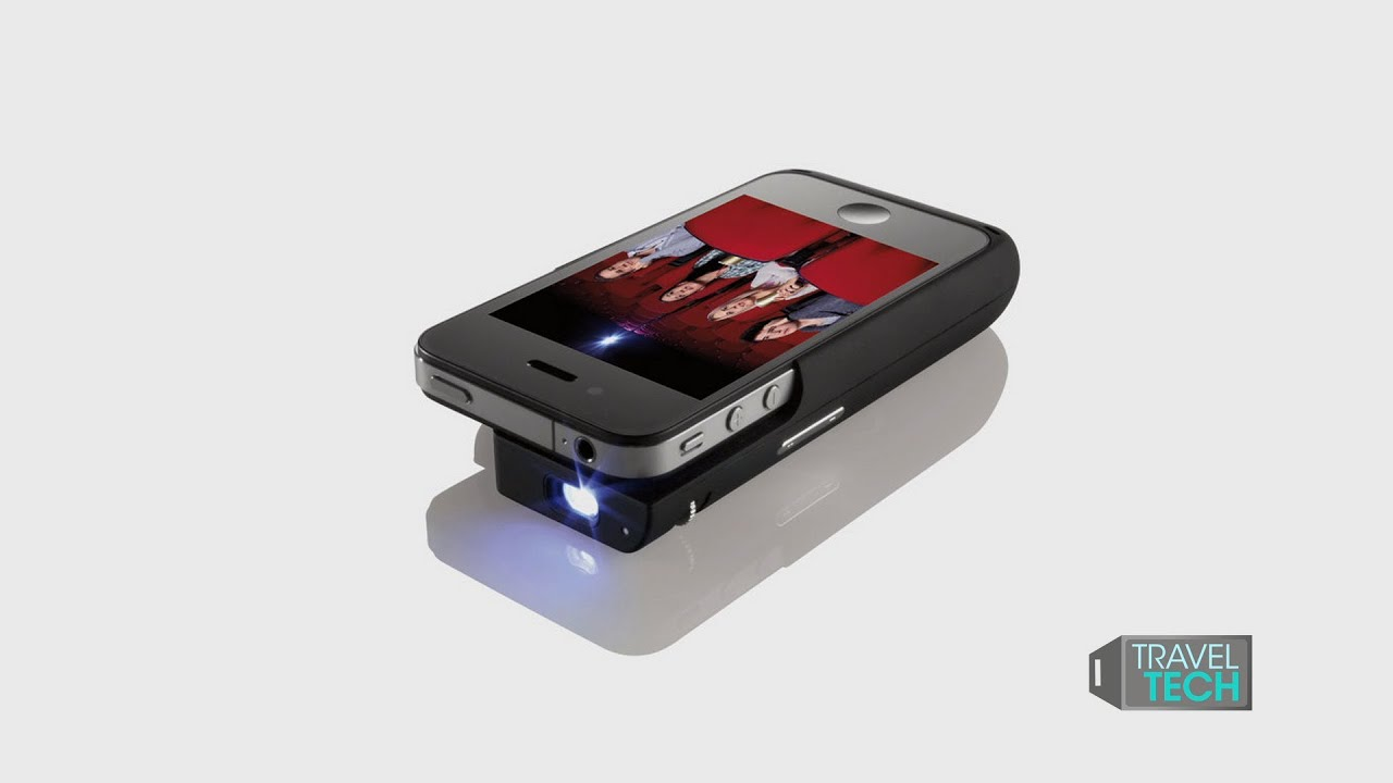 Brookstone pocket projector for iphone review for A small projector