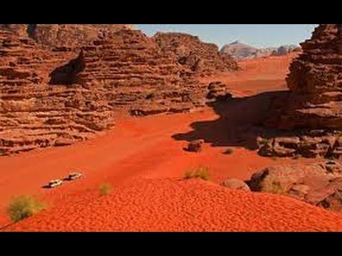Escapade en #Jordanie paysages du #Wadi-Rum #désert ...