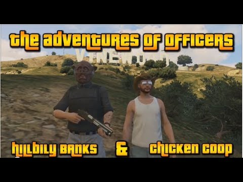 The Adventures of Officers HillbillyBANKS and ChickenCoop Ep.1 (Strip Club Masterbater)