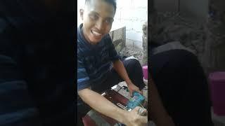 cara bikin mesin giling pelet lele