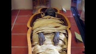 Три мумии обнаружили египетские ученые в черном саркофаге.