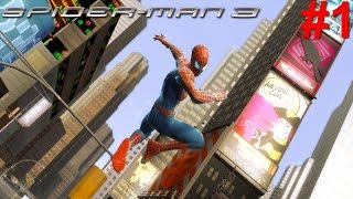 Spider-Man 3 PS3 Gameplay #1 [Rampaging Reptiles Raid City]