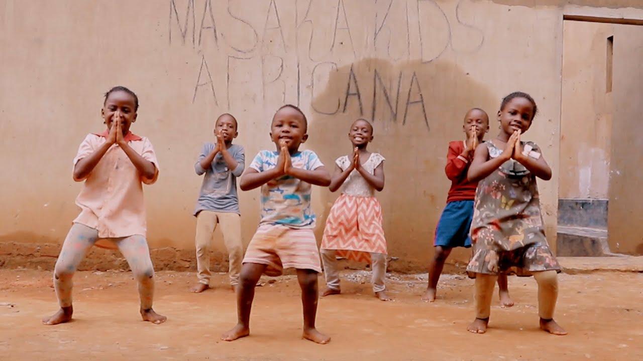 Masaka Kids Africana Dancing Goodness Of God