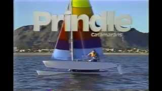 Prindle Catamaran Sales Video 1980's.