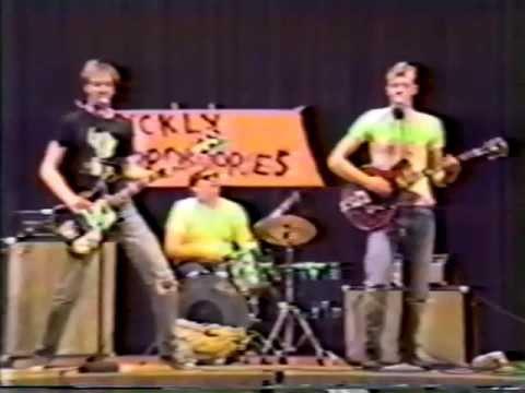 "Deke Dickerson/Steve Mace ""Rock and Roll High School"" 1986 video project."