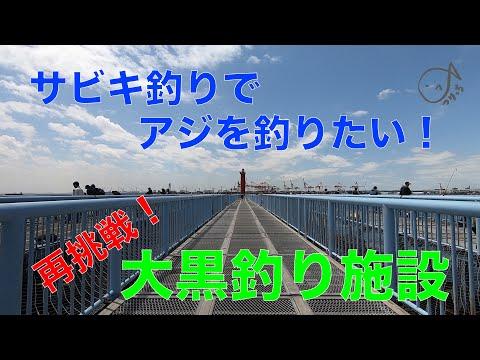 大黒海釣り施設 再挑戦!初サビキアジをゲット!? 2019.5(2)