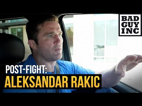 I'm disgusted by Aleksandar Rakic'spost-fight actions...