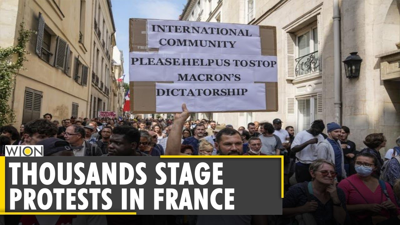 Download COVID-19: Thousands protest in France against health pass   Latest World English News   WION News