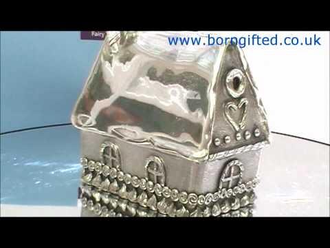 Pewter Hansel & Gretel Coin Box by Royal Selangor