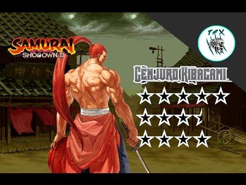 Samurai Shodown III /  Genjuro Kibagami  [Arcade Playthrough]