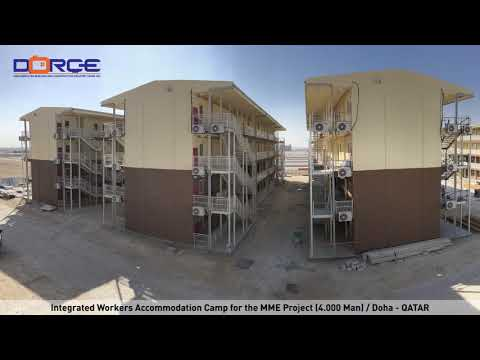 Dorce Qatar Integrated Worker Accommodation Camp for 4,000 Man