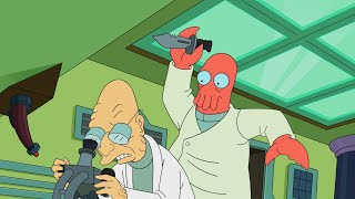 Zoidberg kills Professor Farnsworth