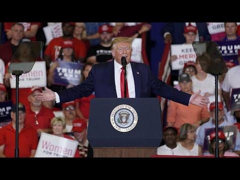 ترامب يمزج بشأن ولاية رئاسية ثالثة خرقاً للدستور -من أجل كأس العالم-…  - 20:54-2019 / 9 / 11