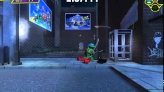 Игра Лего Череашки ниндзя онлайн