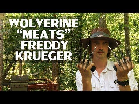 """Wolverine """"Meats"""" Freddy Krueger BBQ Shredding Claws"""