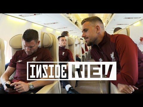 Inside kiev: reds head to ukraine | two days until the champions league final
