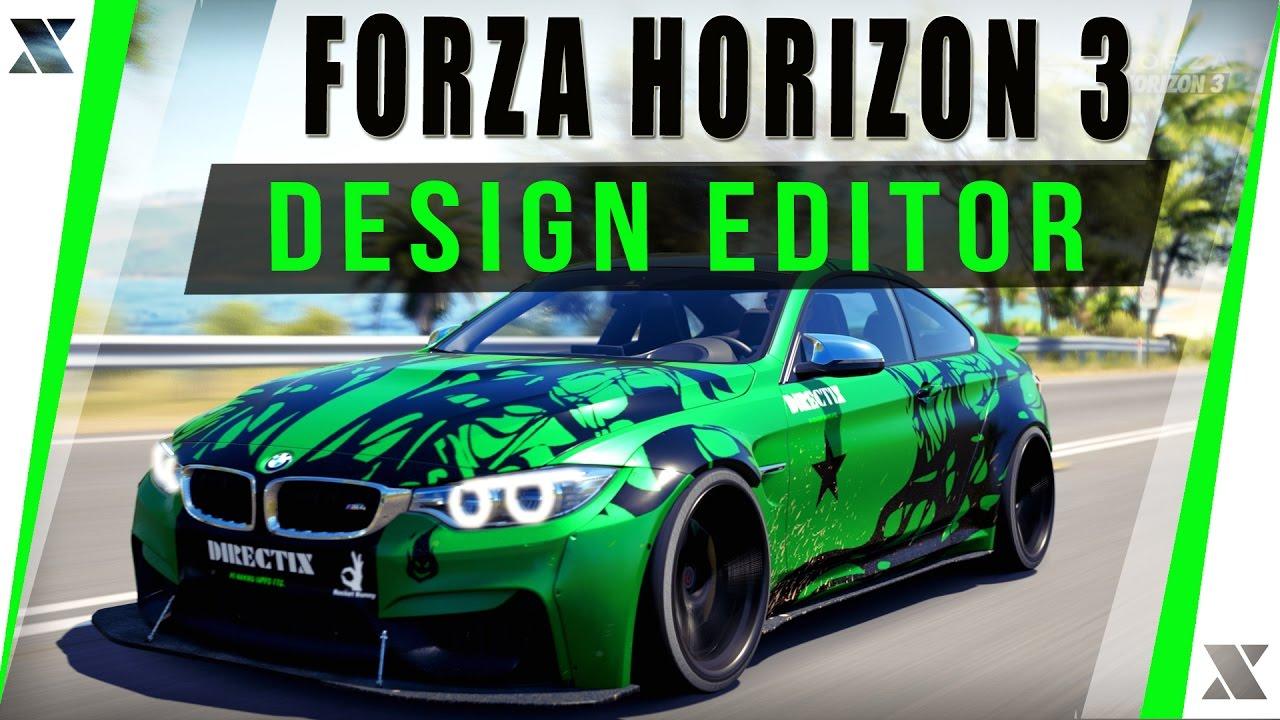 Forza Horizon 3 PC - Eigenen Skin entwerfen | BMW M4 Rocket Bunny ...