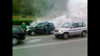 Jak zatrzeć silnik w Renault, rozbieganie silnika - kobieta nie wie co zrobić!!!