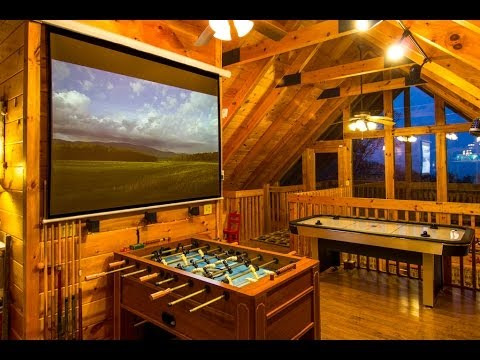 Attrayant Gatlinburg/Pigeon Forge | 1 Bedroom Cabin Rental | Smoky Mountain Log Cabin  |
