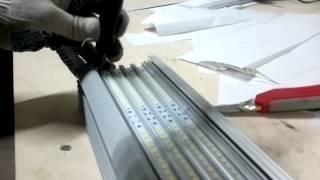 Крепление светодиодного модуля LG48 Профиль алюминиевый светодиодный Светоч Универс(, 2014-05-06T18:34:53.000Z)
