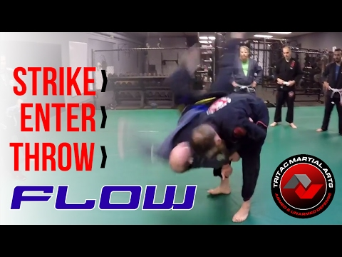 Strike › Elbows › Enter › Throw: TRITAC-Jitsu Flow