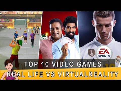 Top 10 VIDEO GAMES Real Life vs Virtual Reality | Ft. Varun | Countdown | Madras Central