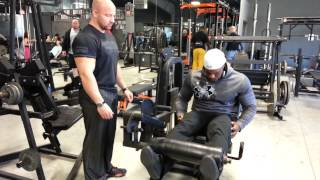 Leg Extentions Cannon Ball Set Powered By Dymatize And Bodybuilding.com