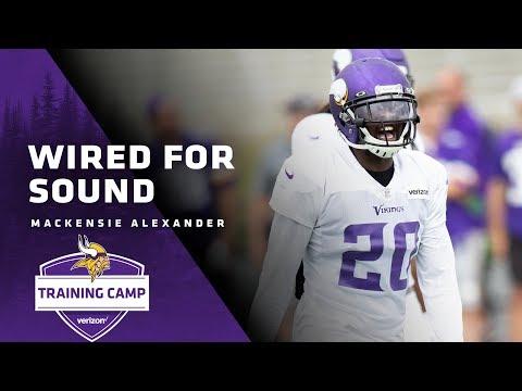 Wired For Sound: CB Mackensie Alexander   Minnesota Vikings