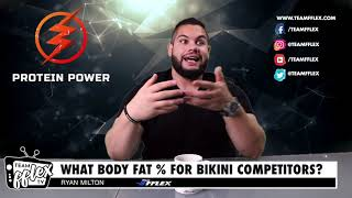 The True Bikini Competitor Body Fat Percentage! | Fitness Fire #68 | TeamFFLEX | Ryan Milton