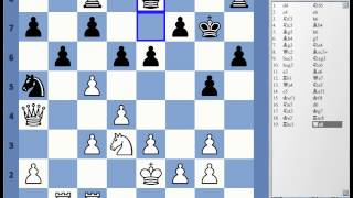 Blitz Chess #1765 with Live Comments Queens Indian Kasparov vs BPaulsen Bryan Paulsen with White