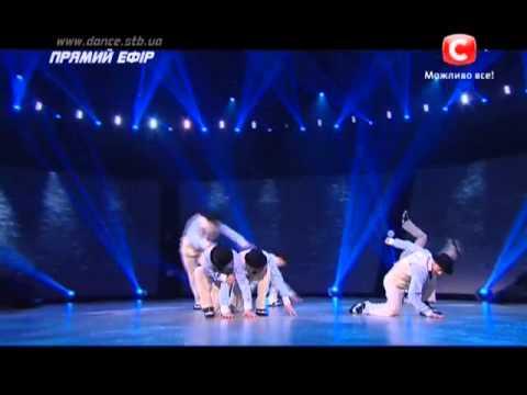 Танцуют все 6 сезон - Танцуют парни. Танец с зонтиками - Второй прямой эфир 06.12.2013