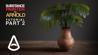 Substance Painter Texturing - PART 2 of 2 (Rendering in Arnold)