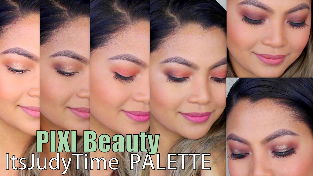 6 MAKEUP LOOKS using *ItsJudyTime + PIXI BEAUTY* Palettes