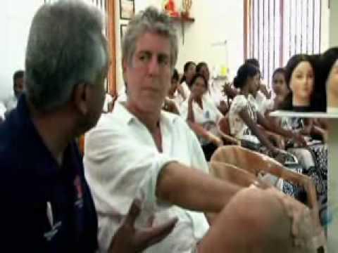 Anthony Bourdain Visit to Sri Lanka