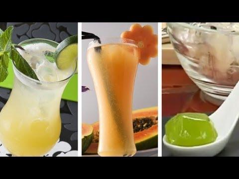 Singapur Sling + Shangai + Guinda: Gelatinas de tu cocktail favorito y caramelos de Gin-tonic
