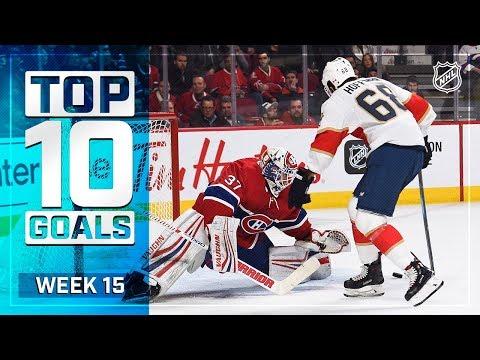 Top 10 Goals from Week 15